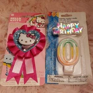 Hello kitty birthday bundle